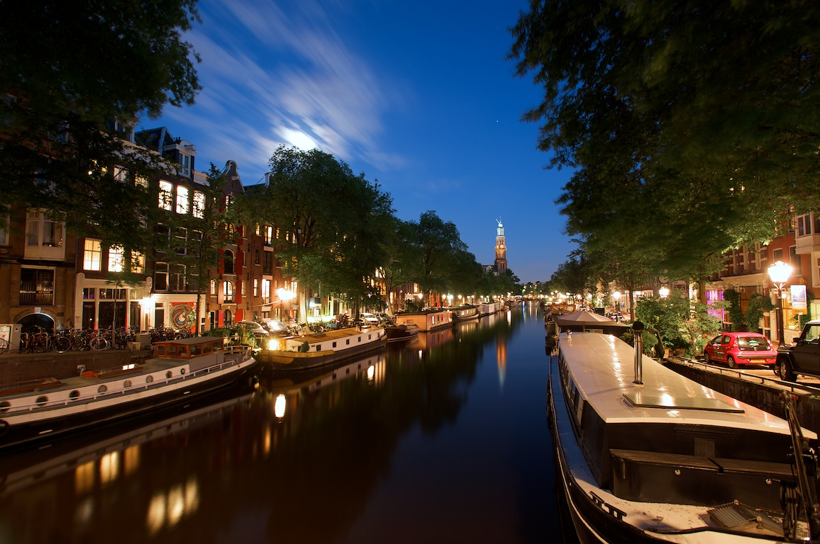 Blue Evenings in Amsterdam