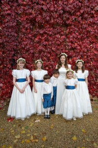 Bridal Party of Olivia and David's Wedding in England