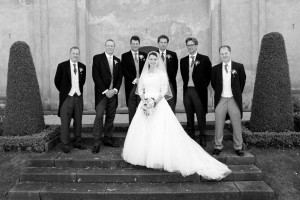 Wedding Photography in Prague Gardens