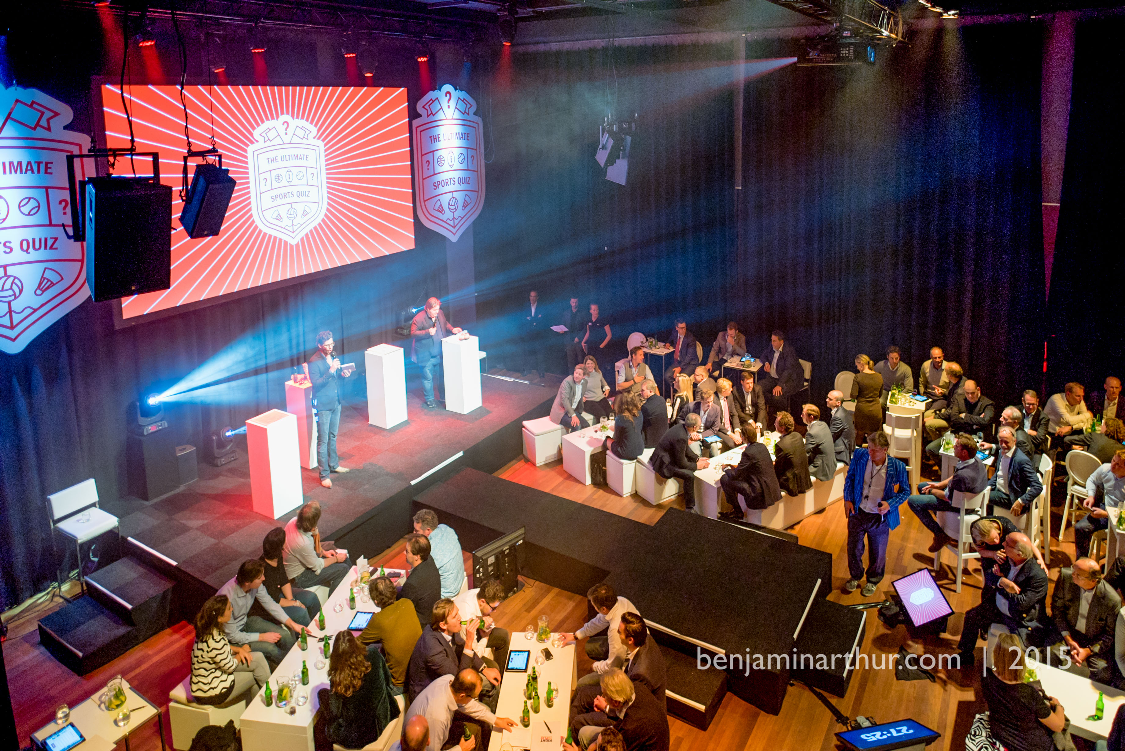 An overview of the Westergastheater in Amsterdam - everyone ready for the Ultimate Sports Quiz